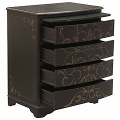 Home Meridian Curved Chest Storage Chest