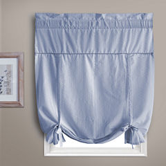United Curtain Co. Dorothy Rod-Pocket Tie-Up Curtain Panel