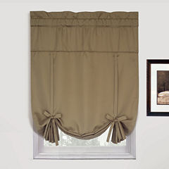 United Curtain Co. Metro Rod-Pocket Tie-Up Curtain Panel