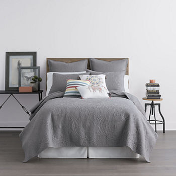 Queen Gray Comforters Bedding Sets For Bed Bath Jcpenney