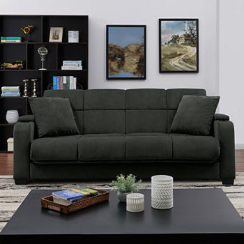 Sa Storage Arm Velvet Convert A Couch