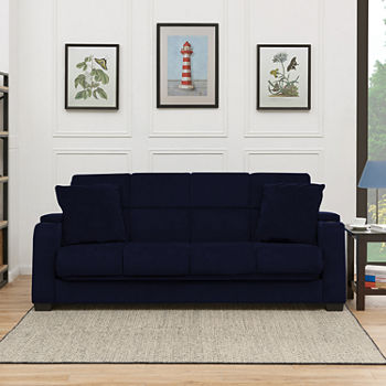 Futons Blue View All Living Room Furniture For The Home