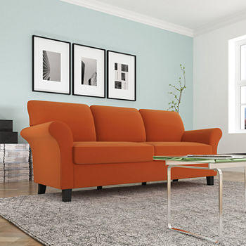 Sofas Orange For The Home Jcpenney