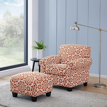 Brilliant Winnetka Chair And Ottoman Ncnpc Chair Design For Home Ncnpcorg
