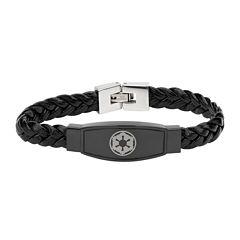 Star Wars® Imperial Crest Mens Stainless Steel Bracelet