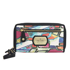 Nicole By Nicole Miller Cara Zip Around Wallet