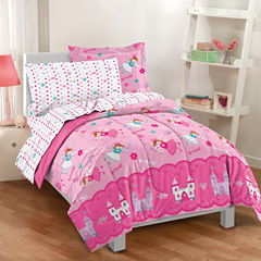 Dream Factory Magical Princess Comforter Set