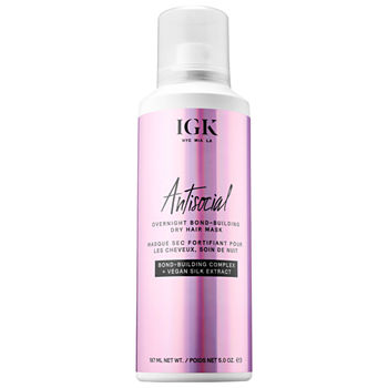 IGK Antisocial Overnight Bond-Building Dry Hair Mask