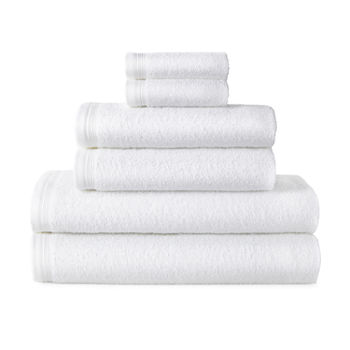Home Expressions Solid 6-pc. Solid Bath Towel Set
