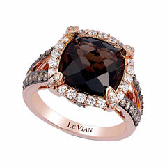 LIMITED QUANTITIES! Grand Sample Sale™ by Le Vian® 7/8 CT. T.W. Brown Quartz 14K Gold Cocktail Ring
