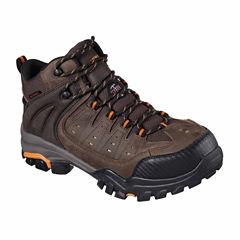 Skechers Lakehead Mens Waterproof Slip Resistant Work Boots