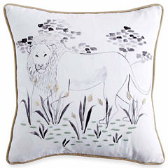 Peri Zodiac Square Throw Pillow