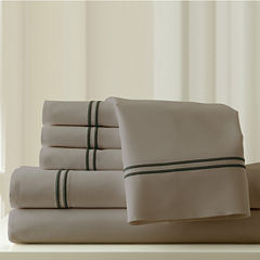 1000 Thread Count Cotton Blend Double Marrow Hem Sheet Set
