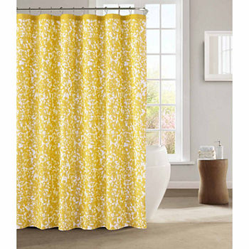 yellow and teal shower curtain.  Yellow Shower Curtains For Bed Bath JCPenney