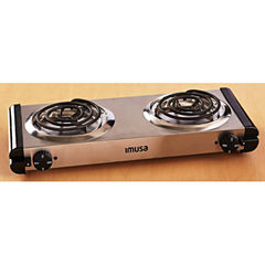 IMUSA GAU-80312 Electric Double Burner