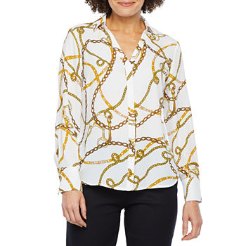 a1baa958 Blouses White Tops for Women - JCPenney