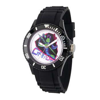 Marvel Guardian Of The Galaxy Marvel Mens Black Strap Watch-Wma000112