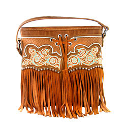 Montana West Emma Fringe Crossbody Bag