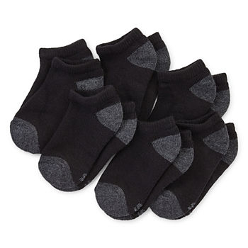 Xersion Little Boys 6 Pair No Show Socks
