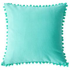 Lala+Bash Pompom Throw Pillow Cover
