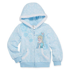 Disney Frozen Fleece Jacket-Big Kid Girls