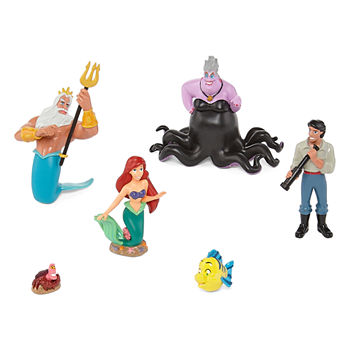 Disney Collection Little Mermaid 6-Pc. Figurine Playset