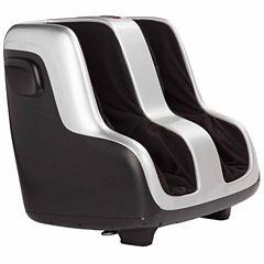 Human Touch Reflex4 Foot & Calf Massager - Black & Silver