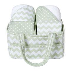Trend Lab® Sea Foam 5-pc. Baby Bath Gift Set