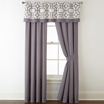 Studio By Jcp Home Gray Bedroom Curtains & Decor for Bed & Bath ...