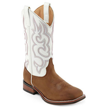 5db89cbbd7045 Cowboy Boots Beige Women s Boots for Shoes - JCPenney