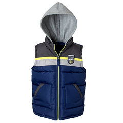 Colorblock Vest with Hood - Boys Bid Kid