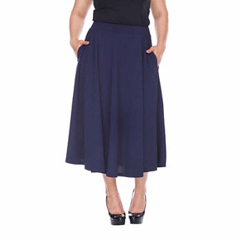 e0e5f67ee8b8 Plus Size Skirts for Women - JCPenney