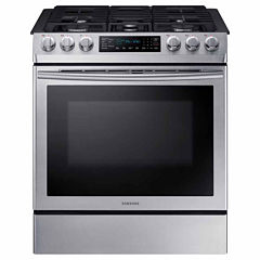 Samsung 5.8 Cu. Ft. Slide-In Gas Range with Fan Convection
