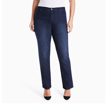 2aa7c3731ceb Plus Size Jeans for Women | Skinny, Flare & More | JCPenney