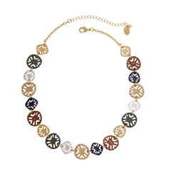 Bold Elements June Bold Elements Newness Womens Collar Necklace