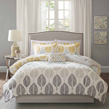 Madison Park Essentials Pelham Bay Complete Comforter & Cotton Sheet Set