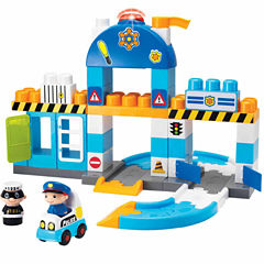 55 Piece I-Builder Police Station