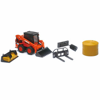 New Ray 1:18 Kubota M5-11 With Hay Baler