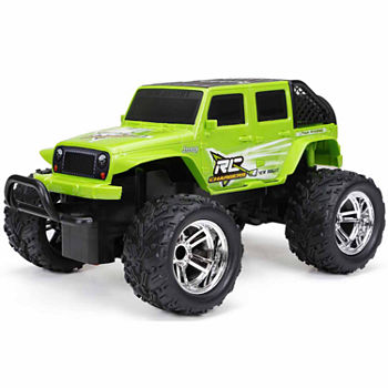 New Bright 1:18 Remote Control Jeep Wrangler
