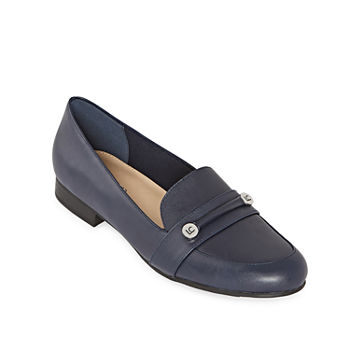 5e881af542ec6 Liz Claiborne Blue Women's Flats & Loafers for Shoes - JCPenney