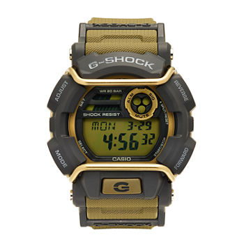 Casio G-Shock Mens Brown Strap Watch-Gd400-9