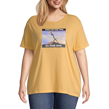 b4f4aaaa6 Juniors Plus Size Graphic T-shirts Graphic Tees for Juniors - JCPenney