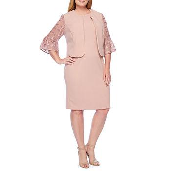 Plus Size Jacket Dresses Dresses for Women - JCPenney