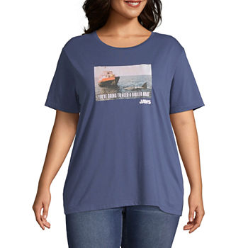 c8ccdfed Graphic T-shirts Tops for Women - JCPenney
