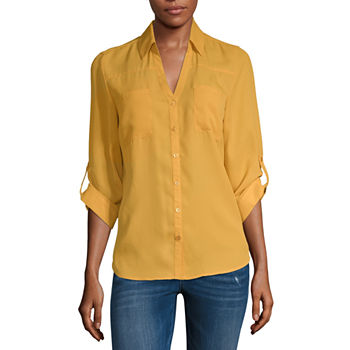 341841656 3/4 Sleeve Tops for Juniors - JCPenney