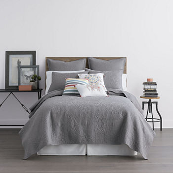Twin Gray Comforters Amp Bedding Sets For Bed Amp Bath Jcpenney