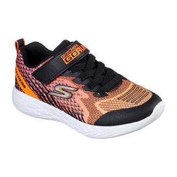 Skechers Go Run 600 Little Kids Boys Hook and Loop Sneakers