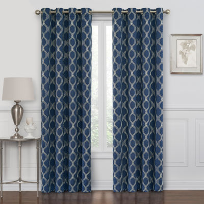 Geometric Curtain Panels Curtains \ Drapes for Window - JCPenney