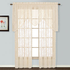 United Curtain Co Windsor Rod-Pocket Curtain Panel