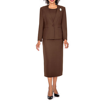 7a8bc00ce208 2018 Cameo Brown Womens Business Work Suits Formal Evening Pant Suits  Female Office Uniform One Button Ladies Trouser Suits From Easyshop 2009